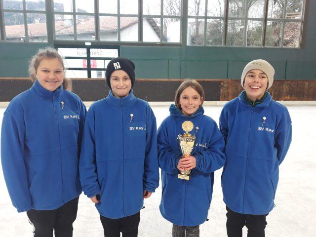 Bronze für U14 Schülermannschaft der Kayer Stockschützen