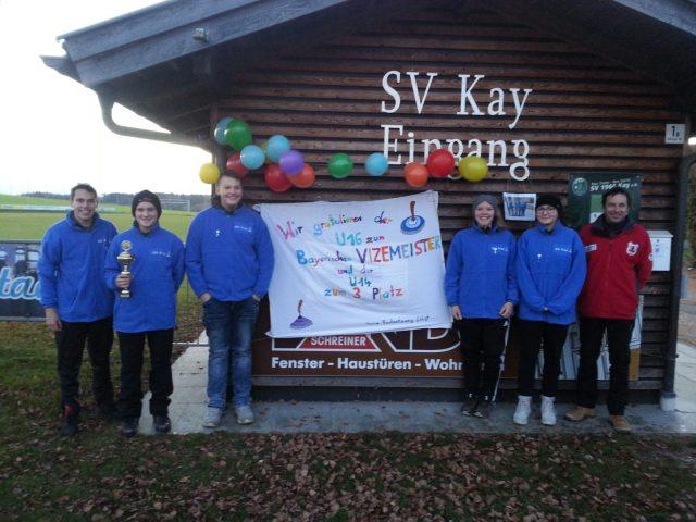Silber für U16 Mannschaft der Kayer Stockschützen