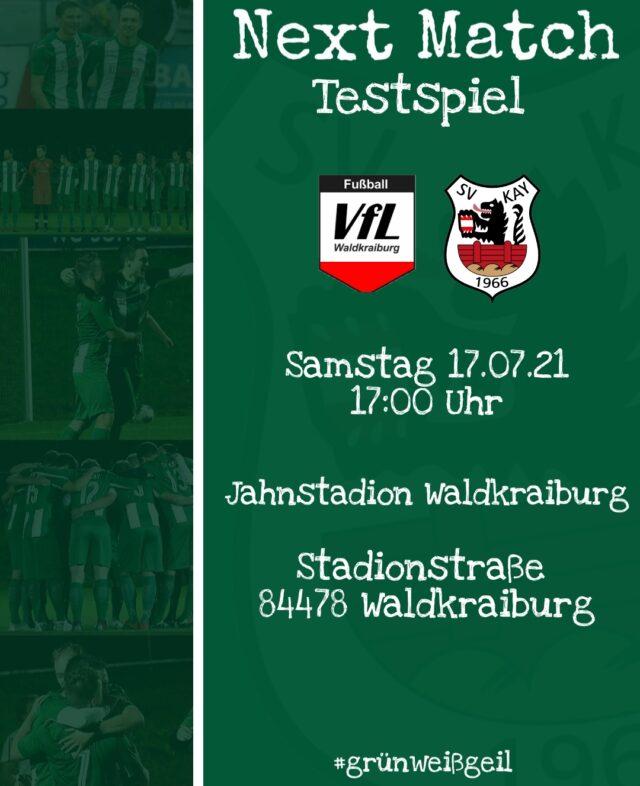 Das nächste Match steht an!