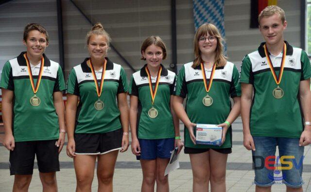 Herausragende Leistungen bei der Deutschen Meisterschaft Jugend